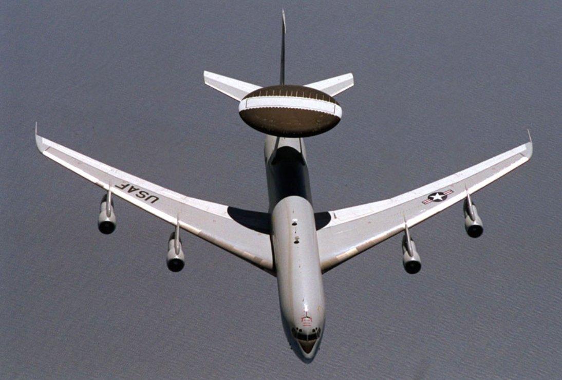 E-3 Sentry (AWACS) - Military Aircraft