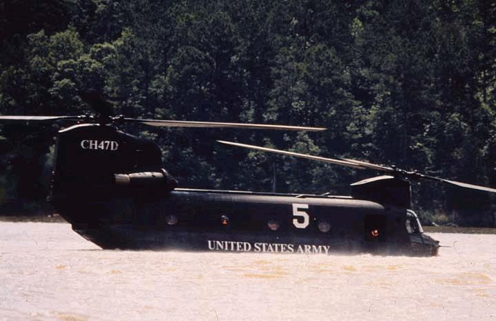 CH-47 Chinook - Military Aircraft