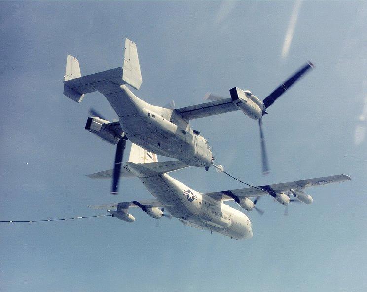"""V-22""""鱼鹰""""倾斜旋翼飞机"""