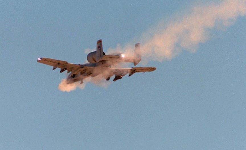 A 10 Warthog A-10/OA-10 Thunderbolt...