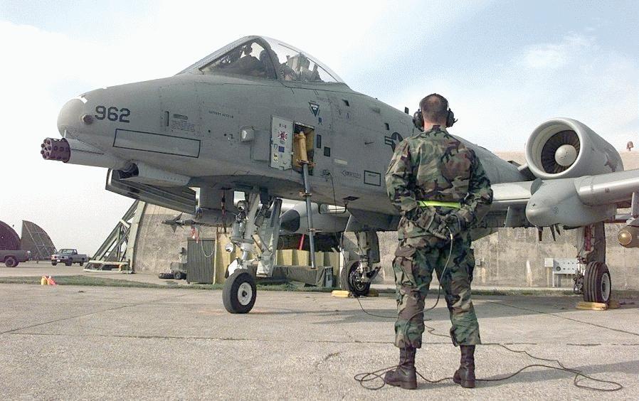 A-10/OA-10 Thunderbolt II - Military Aircraft
