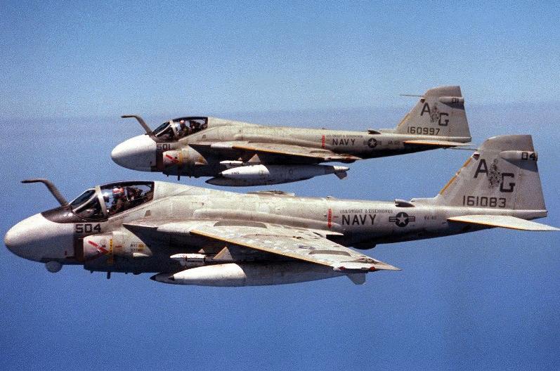 A 6e Intruder Military Aircraft