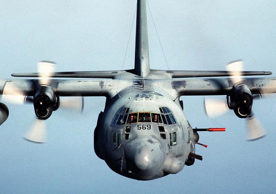 Ac 130h Spectre Military Aircraft