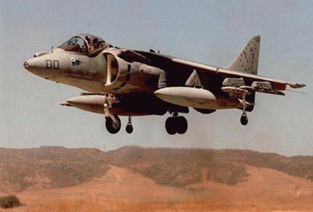 AV-8B Harrier - Military Aircraft