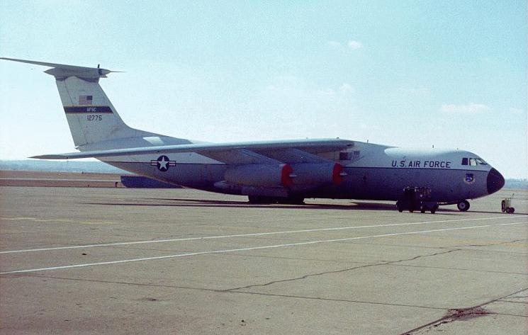 C 141b Starlifter Military Aircraft
