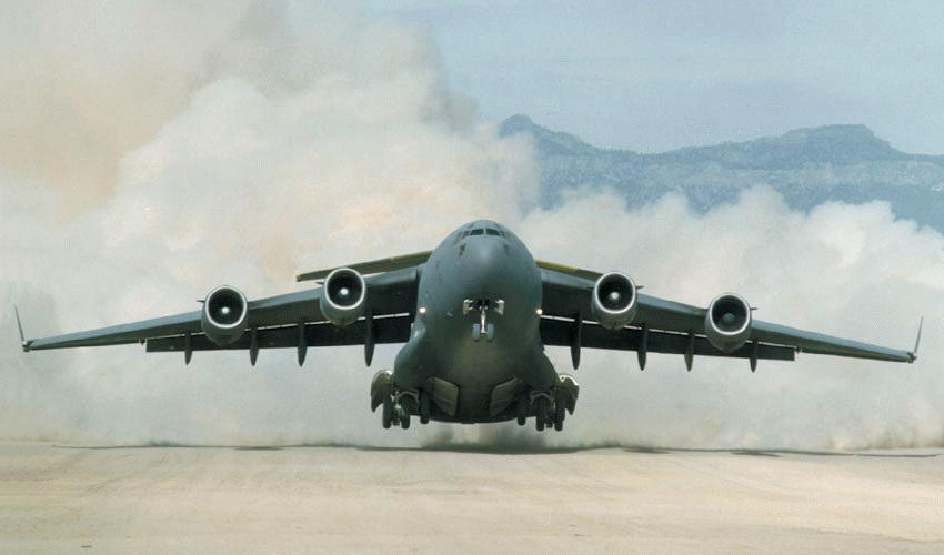 5th Indian C-17 Globemaster III Military Transport Aircraft ...