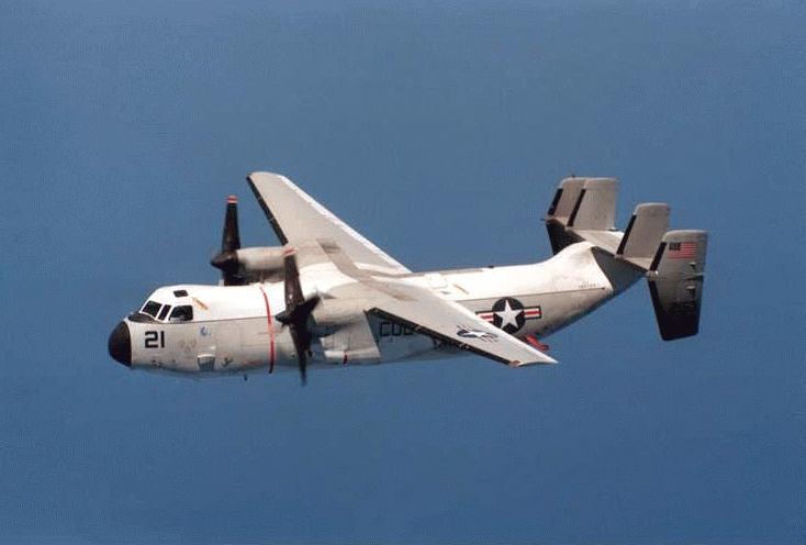 C 2a Greyhound Military Aircraft