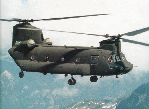 CH-47 Chinook Nakliye Helikopteri Hakkında Bilgi