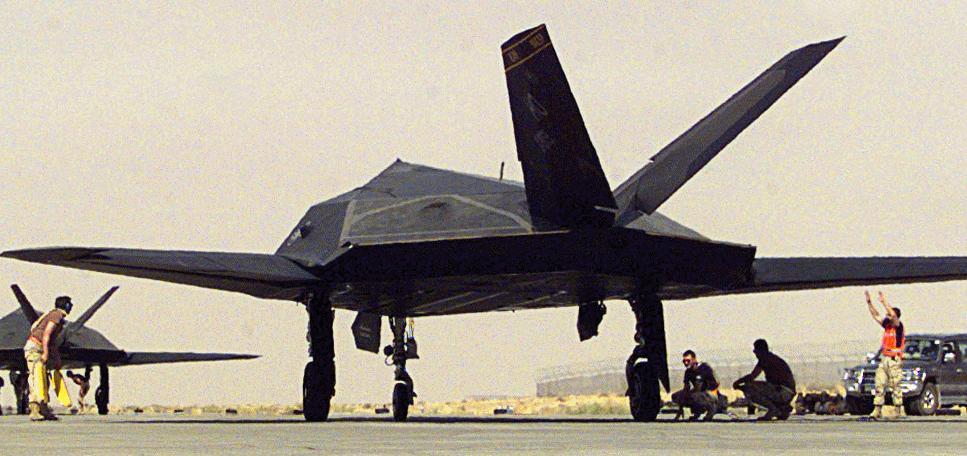 F-117A Nighthawk - Military Aircraft