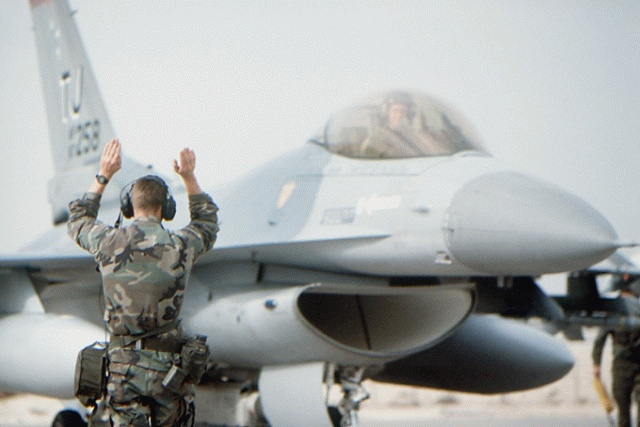 F-16 Fighting Falcon - Military Aircraft