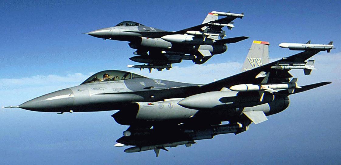 Adquiere la Fuerza Aérea Mexicana Cazas F-16