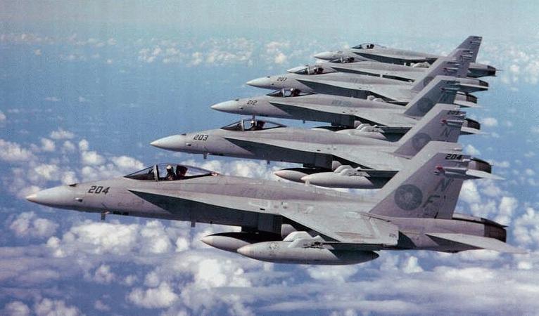 F 18 Supersonic Jet Fighter Buzzes Berkeley