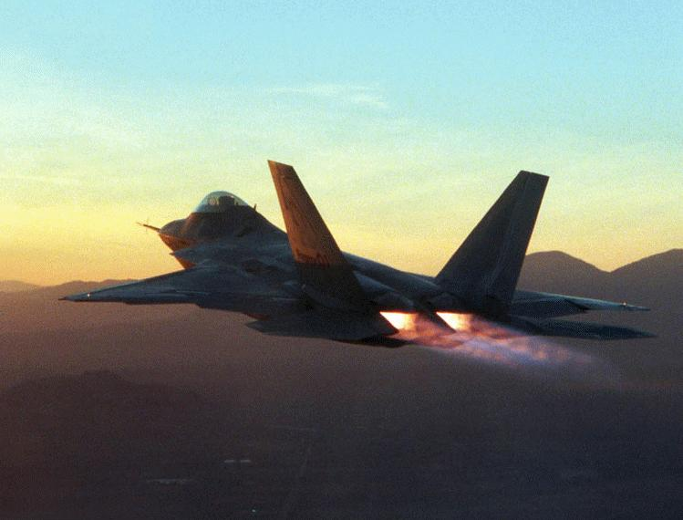 F 22 Raptor Military Aircraft