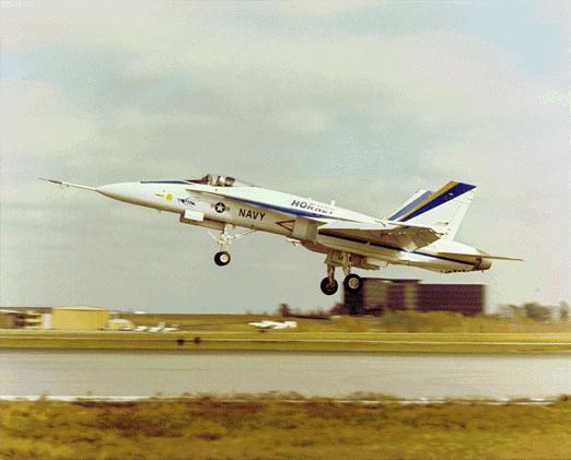 An F 18 Super Hor Aboard The Uss Nimitz