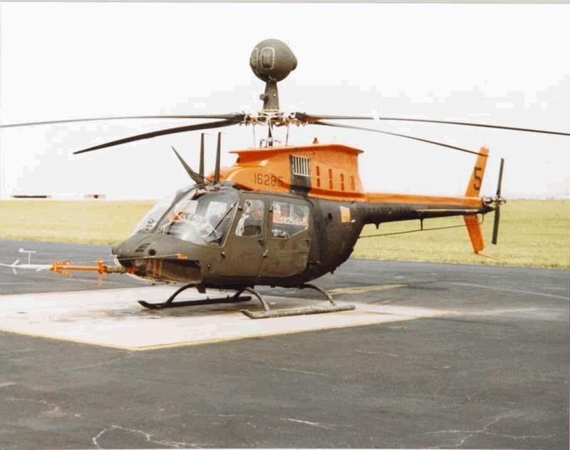 Oh 58d Kiowa Warrior Military Aircraft