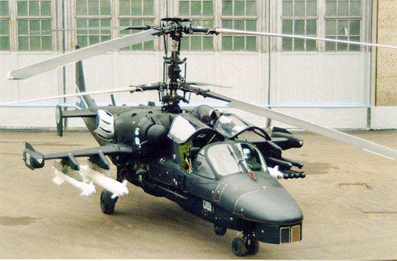 الصفقة الروسية الاردنية Ka-52-1