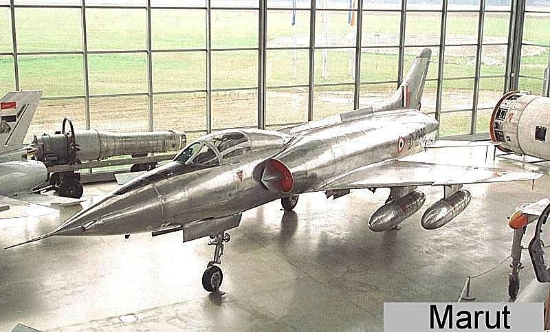 موسوعة اجيال الطائرات المقاتلة واشهر طائرات كل جيل - صفحة 5 Marut-1