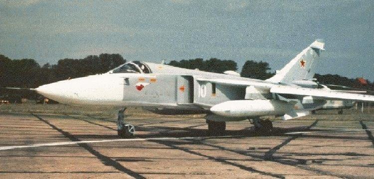 Su-24 FENCER (SUKHOI)