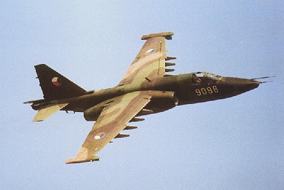 Упал военный самолет.  Штурмовик СУ-25 разбился возле поселка в...