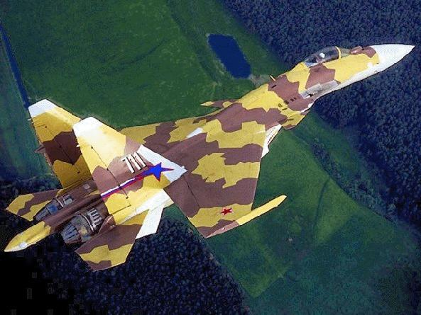 """Самолет выполнен по схеме """"неустойчивый интегральный триплан """", сочетающей нормальную аэродинамическую схему с передним..."""