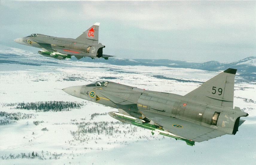 متعددة المهام الجبارة Saab 37 Viggen Viggen-pict2