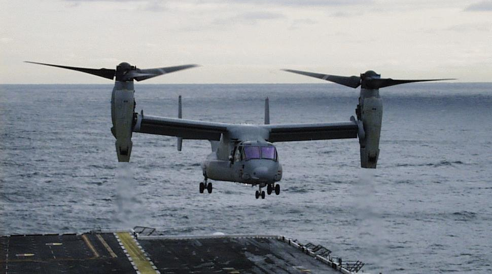 v22 osprey military aircraft