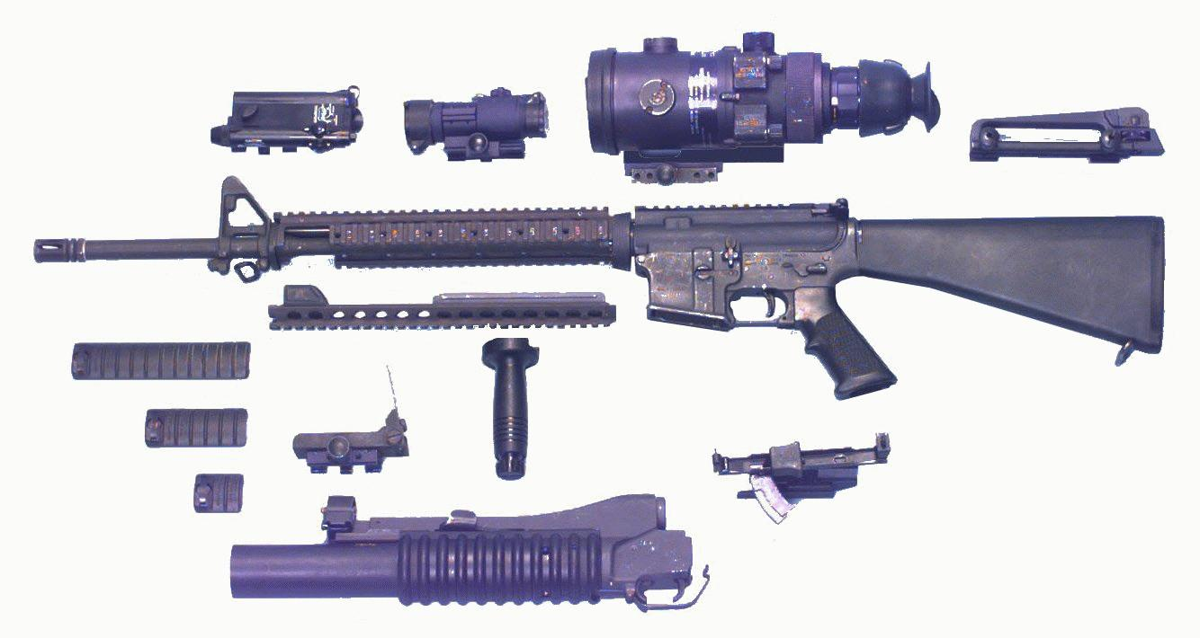 M16A2 5 56mm Semiautomatic Rifle