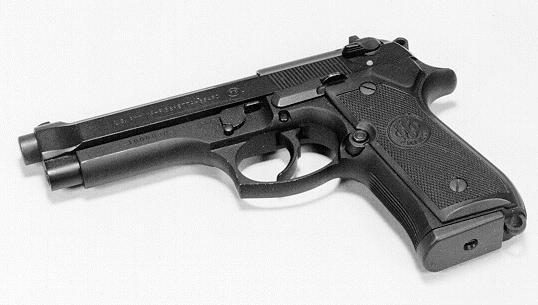 M9 9 mm Beretta Pistol