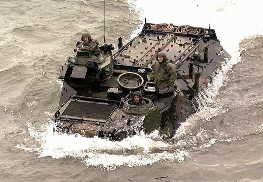 Assault Amphibian Vehicle Personnel Model 7a1 Aavp7a1