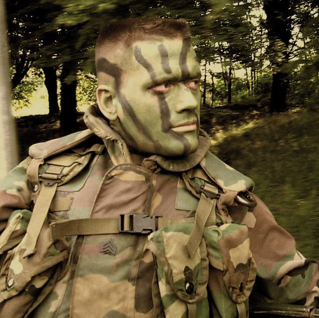 Camouflage Face Paints