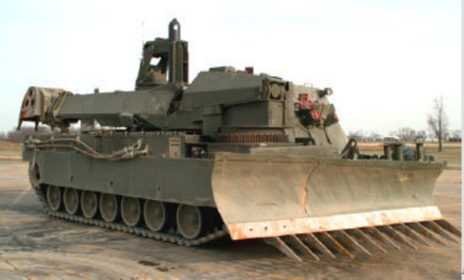 Американский аналог ИМР M1 Grizzly Breacher так.