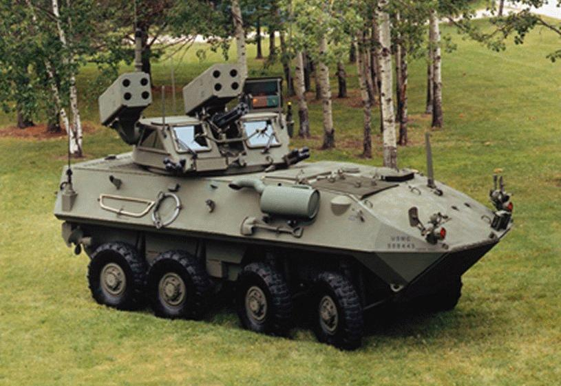 Light Armored Vehicle Air Defense Lav Ad