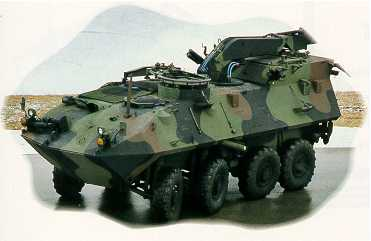 Light Armored Vehicle Recovery Lav R