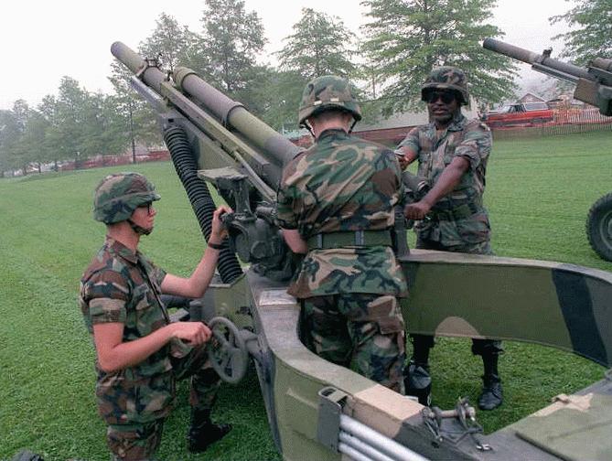 M102 105mm Lightweight Towed Howitzer