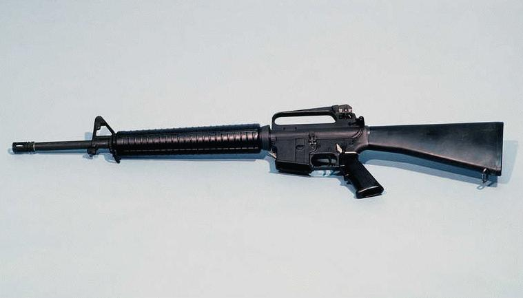 m 16 rifle. M16A2 5.56mm Semiautomatic