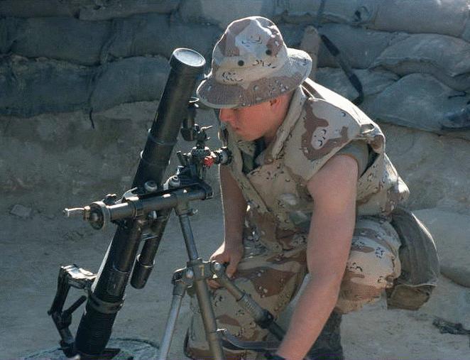 M224 60mm Lightweight Mortar