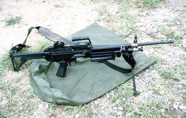 Squad Automatic Weapon (SAW), M249 Light Machine Gun