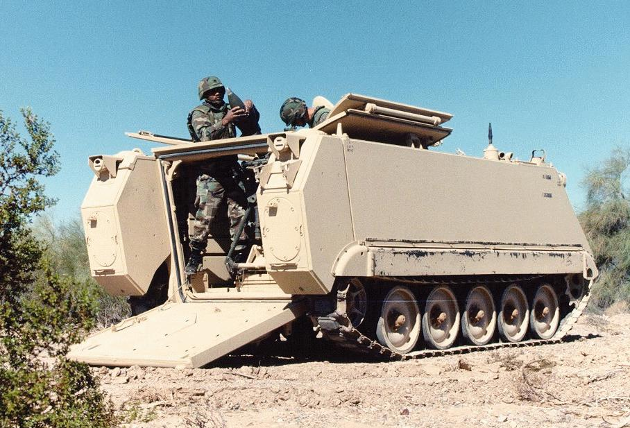M1064A3 Self-propelled 120mm Mortar / M106 Self-propelled ...