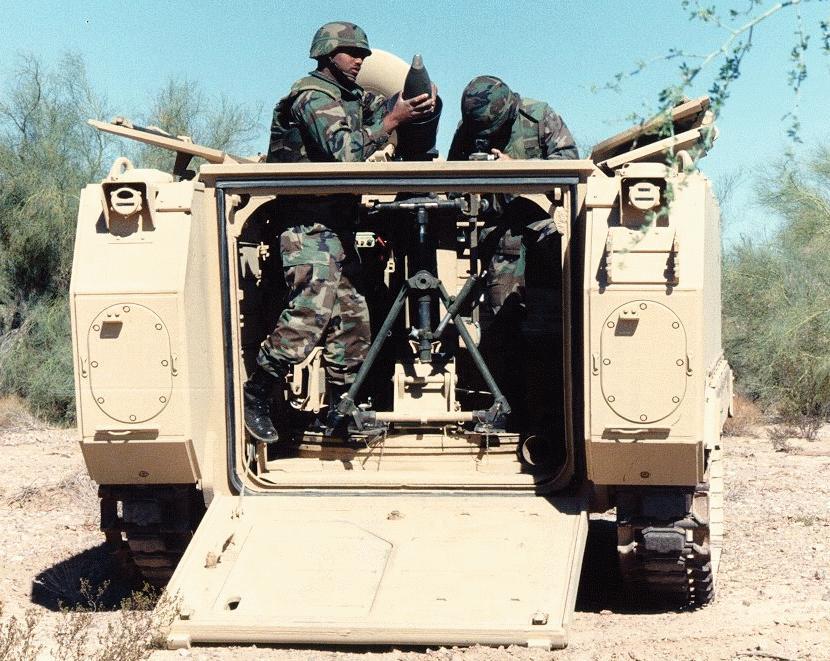 الجيش الملكي المغربي من الالف الى الياء M1064-mortar2
