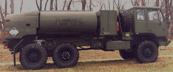 xm fuelwater tanker