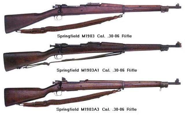 Rifle, Cal. .30-06, M1903 Series