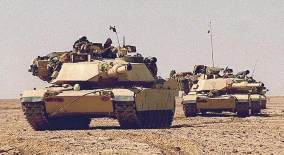 Отличный танк Абрамс