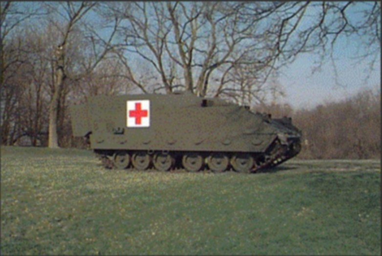 Armored Medical Evacuation Vehicle Amev