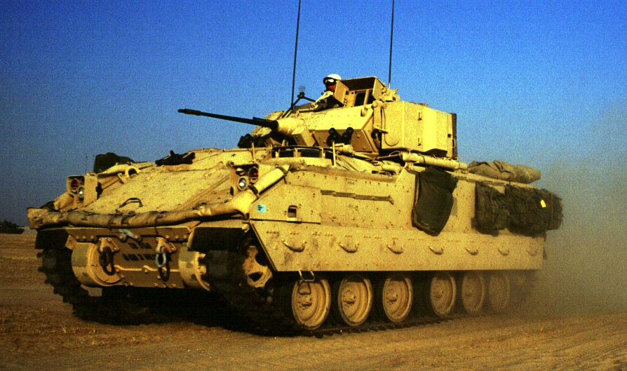 M2A3 and M3A3 Bradley ...