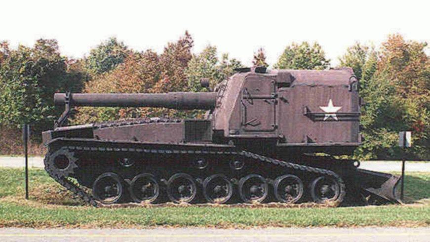 M55 8 Quot Self Propelled Howitzer