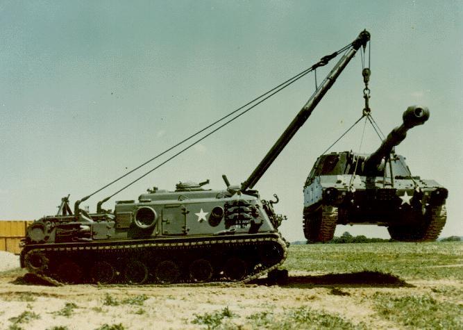 Bergepanzer 2 M88a1-crane