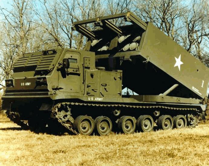 M270 Multiple Launch Rocket System Mlrs