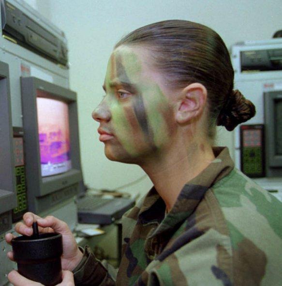 Best Camouflage Face Paint Patterns