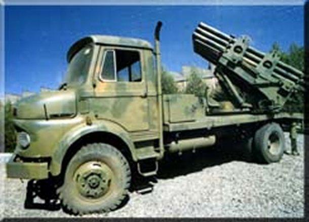 موسوعة الصناعات الايرانية 122mm-mrl-iran