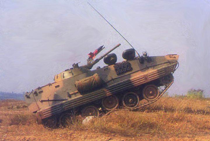 中国YW309履带式步兵战车